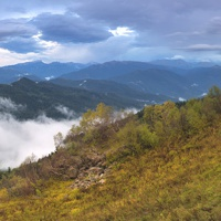 Unique trip to the place of power in the mountainous Adygea