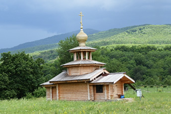 The Temple of the Annunciation of Blessed Virgin in the mountainous Adygea. <i>Project «Synergy» of Dmitry Voevodin</i>
