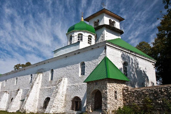 St. Michael's Athos Hermitage <br />in the mountainous Adygea