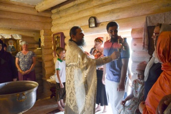 The Sacraments of church holding in our temple: <br />Christening, Confirmation and Wedding